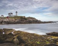 Nubble Lighthouse, York, United States